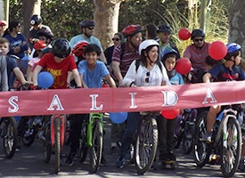 Gran Participacion en Cicletada Familiar 2019