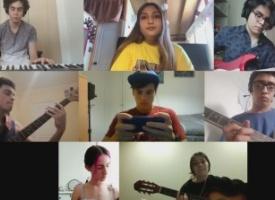 Trabajos destacados realizados por alumnos en el área de música