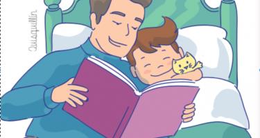 Leer con tus hijos, un buen momento